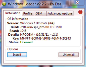 window 7 professional loader free download 32 bit
